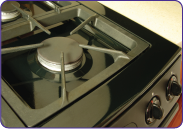 Clean stove top after using Super Clean.
