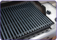 Clean BBQ grill after using Super Clean.