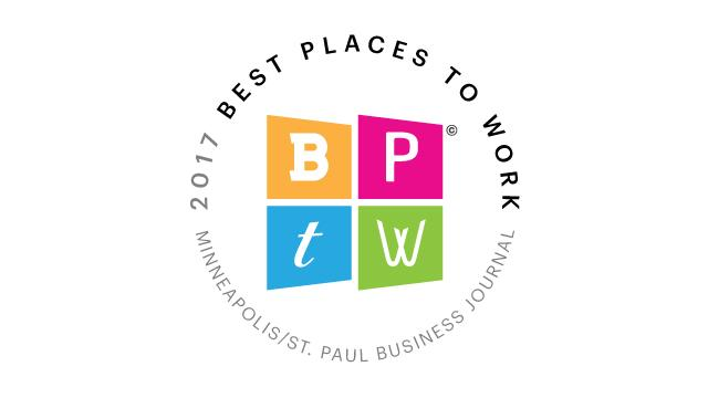 minneapolis saint paul business journal, 2017 best places to work