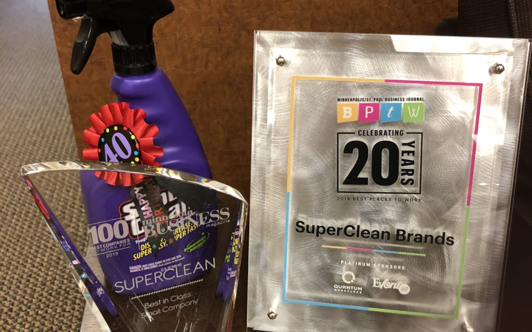 SuperClean Brands, LLC Continues to Win in 2018!