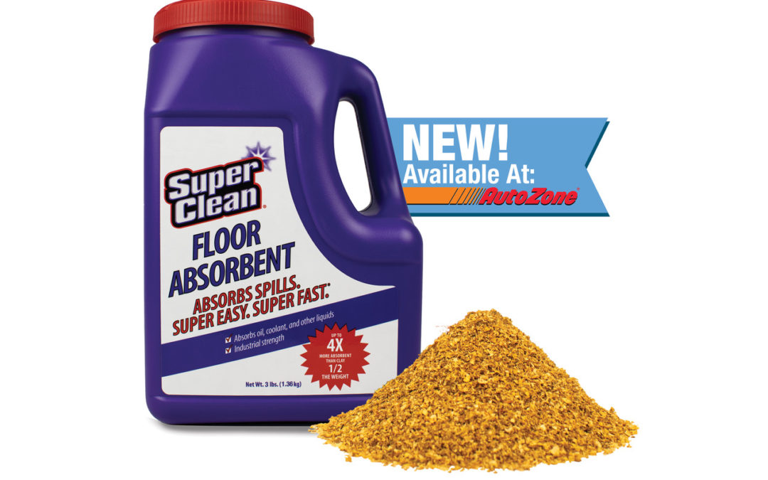 Super Clean Announces New Floor Absorbent!
