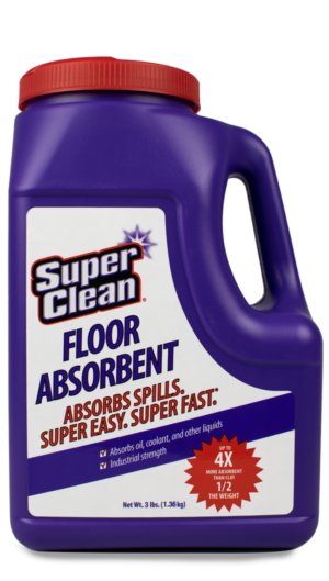 SuperClean Floor Absorbent Cleaner