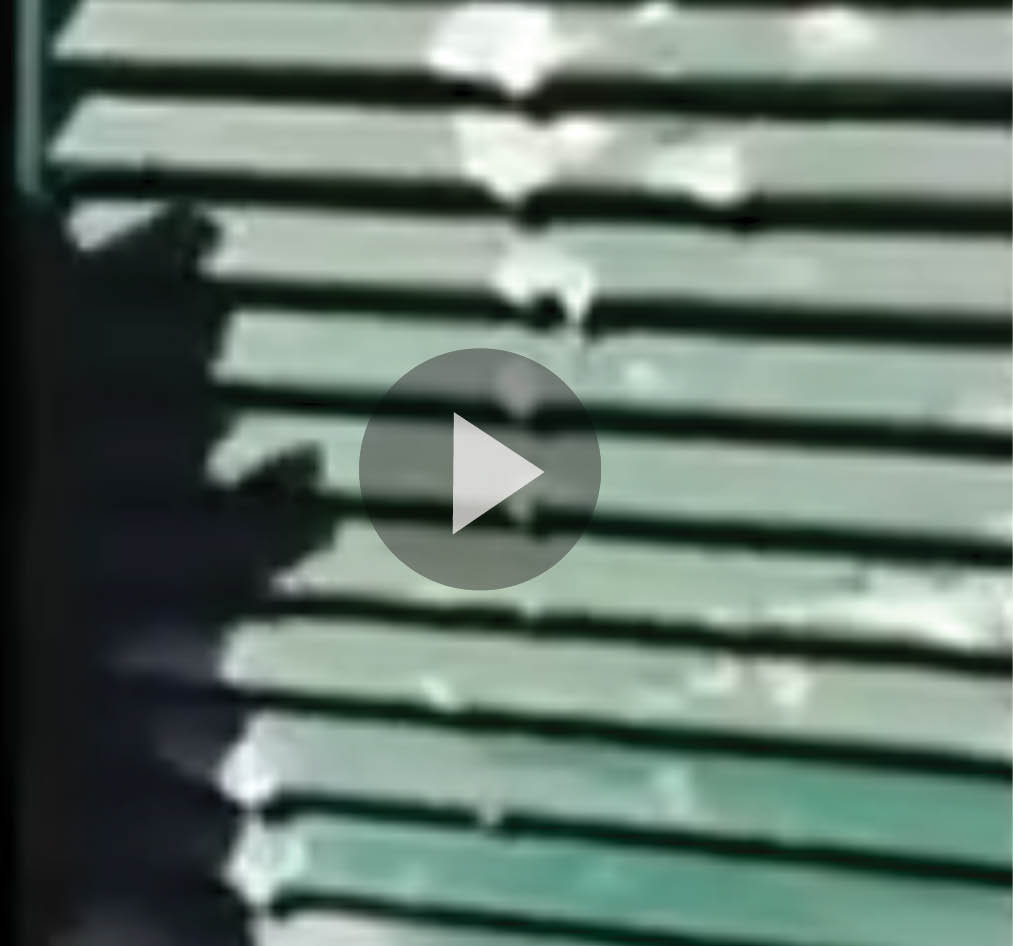 Still frame of video cleaning shutters with super clean